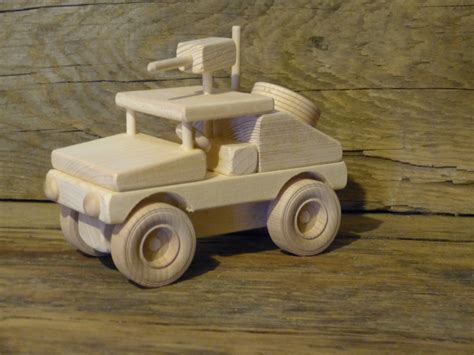 Handmade Toys For Boys - handmade wood humvee hummer truck wooden toys jeep