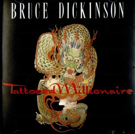 tattooed millionaire bruce dickinson tattooed millionaire us cd album cdlp