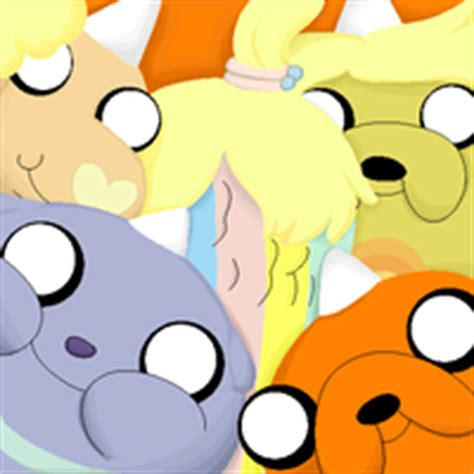adventure time jake s puppies puppies adventure time with finn and jake icon 35683007 fanpop