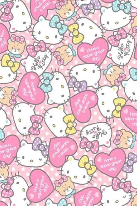 hello kitty wallpaper more hello kitty wallpaper wallpapers pinterest kitty