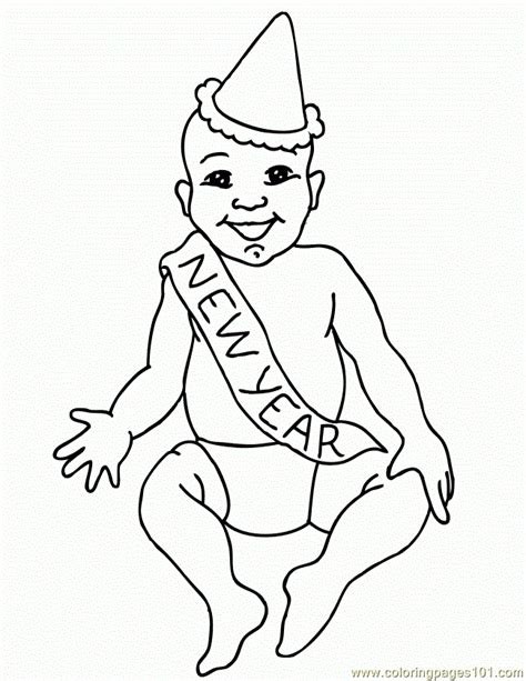 new year colouring pages preschool new year coloring pages
