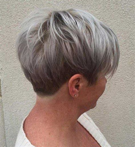 best short ash blonde hair style for older ladies outstanding short hairstyles for older women short