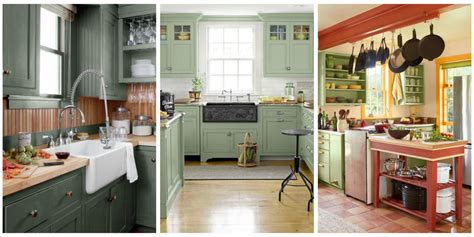 Www Kitchen Ideas 10 Green Kitchen Ideas Best Green Paint Colors For Kitchens