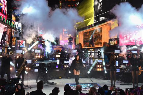 times square new years 2016 demi lovato photos photos new year s 2016 in times