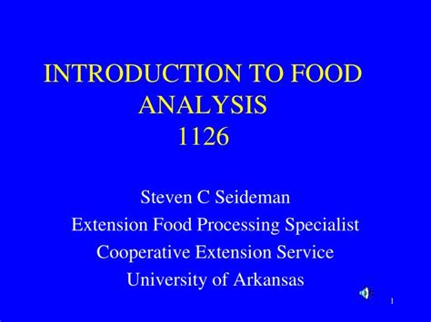 uc cooperative extension offices ucanredu ppt introduction to food analysis 1126 powerpoint
