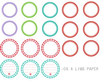 Number Names Worksheets 187 Circle Template Free Free Printable Worksheets For Pre School Children Circle Sticker Labels Template