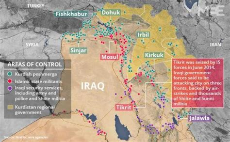 tikrit iraq map the battle for tikrit begins a map of who controls what
