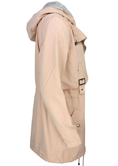 Shirt Parka Dusty yaya sommerjacke parka dusty pink fettebeute shop