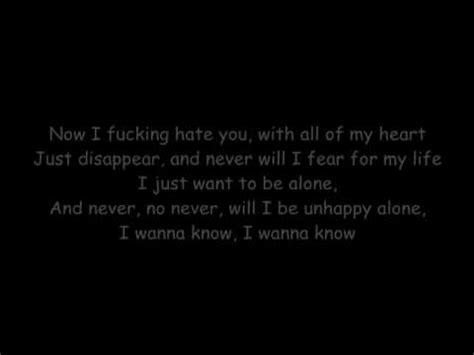bullet for pretty on the outside lyrics