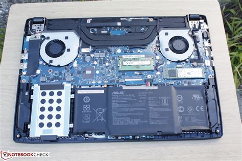 Asus Laptop Bios Access Level asus fx502vm as73 notebook review notebookcheck net reviews