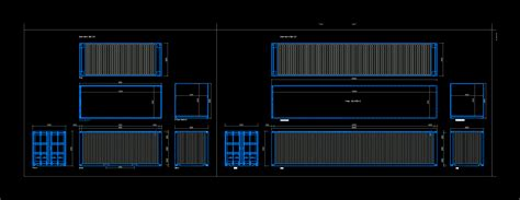 maritime containers  autocad cad   kb