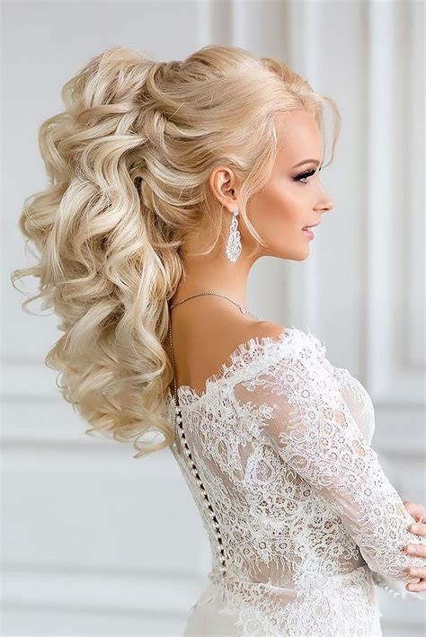 over 50s bridal hair 50 perfect curly hair style for your wedding ideas 43