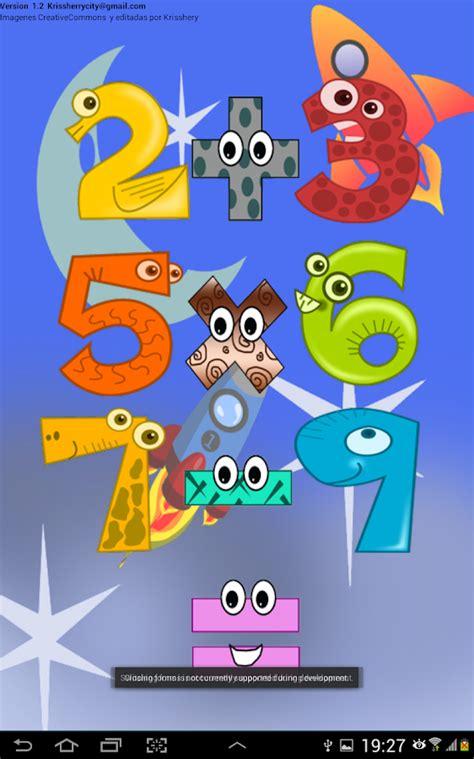 imagenes infantiles matematicas matematicas para ni 241 os aplicaciones de android en google
