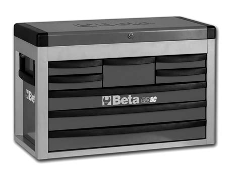 Portable Dresser Drawers Beta C23sc 8 Drawer Portable Tool Chest Top Box Grey