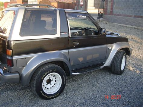 1990 daihatsu rocky 1990 daihatsu rocky for sale 1 6 gasoline manual for sale