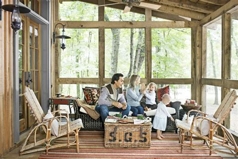 screened in porch decor summer porch and patio decorating