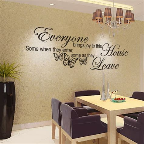 words wall stickers stickers home decor wall decals office company home decoration beautiful wall sticker