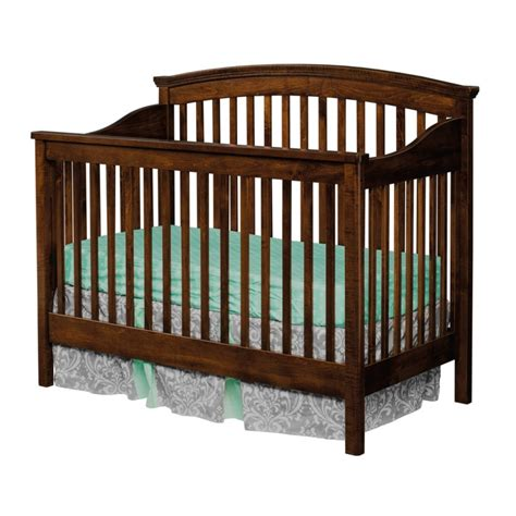 Solid Back Panel Convertible Cribs Solid Wood Crib Amish 28 Solid Back Panel Convertible Cribs Usa Made Baby Nursery 100 Amish