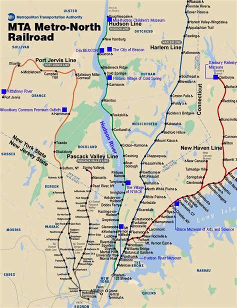 metro harlem line map metro railroad route map metro transit maps