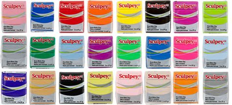 Sculpey Polymer Clay 96 new colors of polymer clay 171 metal clay supply