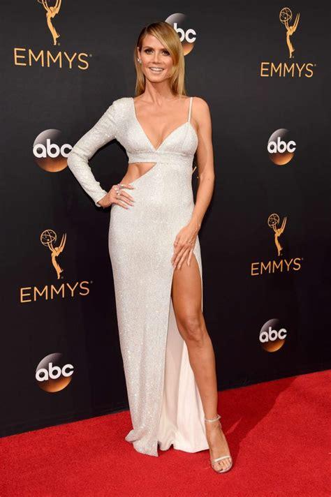 Who Wore Michael Kors Better Heidi Klum Or Hudson by Heidi Klum Wears Michael Kors To The 2016 Emmy Awards