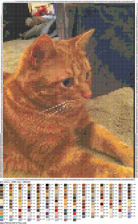 loom beading patterns free patterns animals cross stitch 163 best cross stitch cats images on pinterest cross