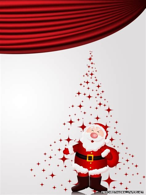 santa claus  coming wallpaper freechristmaswallpapersnet
