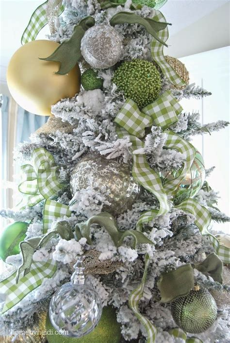 206 best christmas trees white silver gold images on