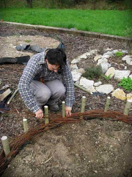 bordure  recinzioni fai da te  giardini