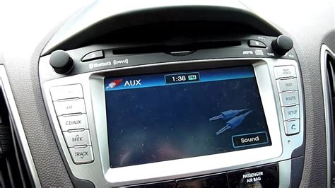 accident recorder 2012 hyundai hed 5 navigation system xm radio quality in the 2010 11 hyundai tucson limited youtube