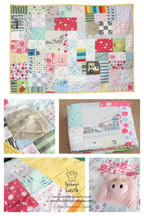Patchwork Memory Quilt - patchwork castle beautiful memory quilts keepsake