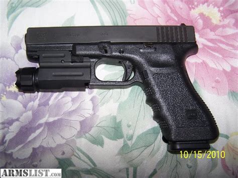glock 17 tactical light armslist for sale trade glock 17 9mm with tactical