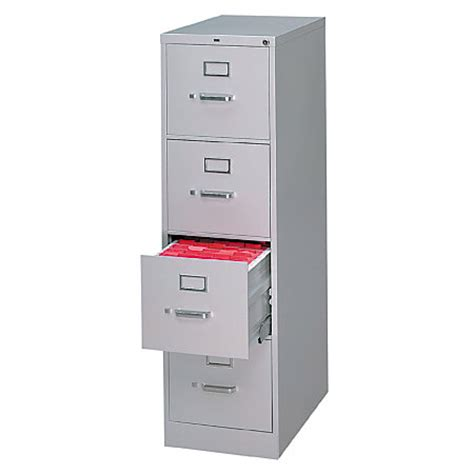 hon 510 series vertical file cabinet hon 510 series 25 d 4 drawer letter size vertical file