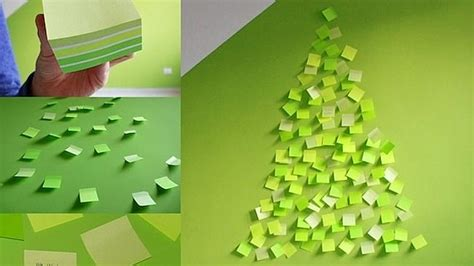 post it christmas tree and wonderful trees from around the world