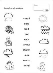 weather worksheets for kindergarten worksheets