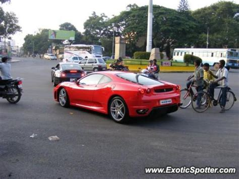 Ferrari 360 Modena Price In India by Ferrari F430 Spotted In Bangalore India On 12 08 2008