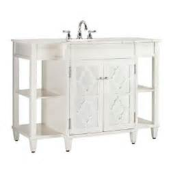 Bathroom Vanity Home Depot Home Decorators Collection Reflections 48 In W X 35 In H Bath Vanity In White Frame With Ivory