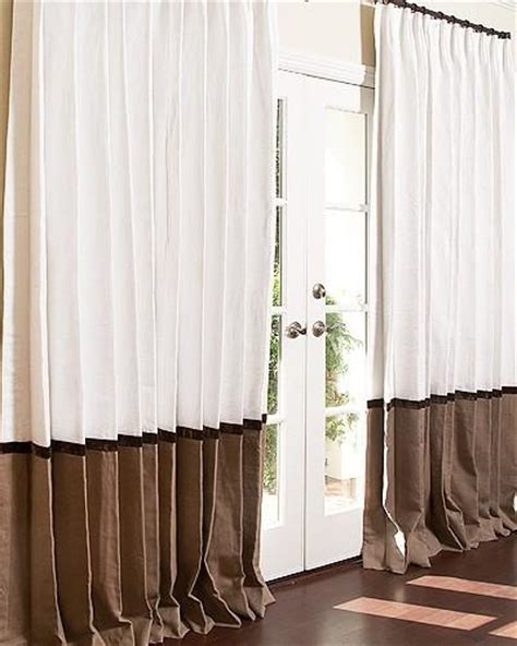 two tone drapery panels two toned window curtains curtain menzilperde net