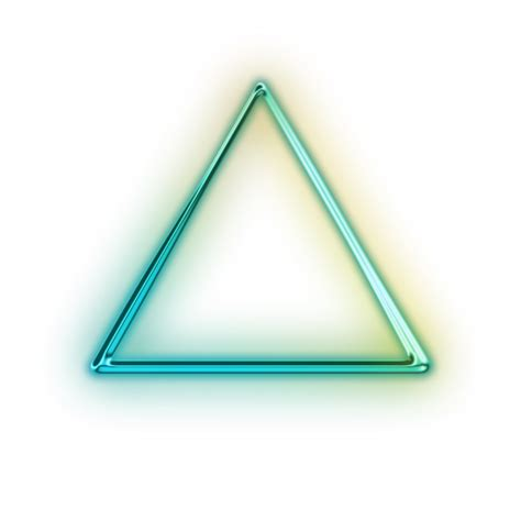 Triangel Neon by Solid Up Triangle Icon 111025 187 Icons Etc