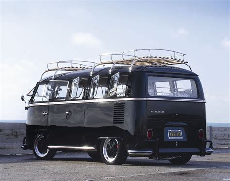 black volkswagen bus vw kombi finally the end vw bus