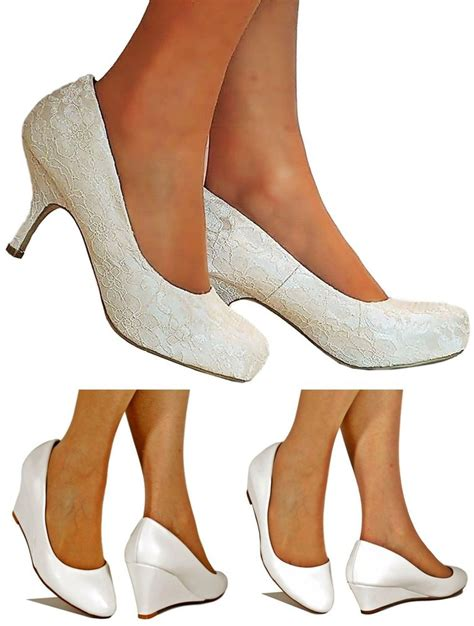 white sparkly shoes sparkly low heel ivory white bridal heel
