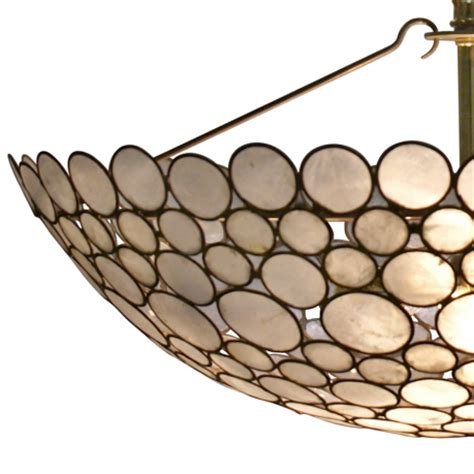 bowl chandeliers serena bowl chandelier shell southhillhome
