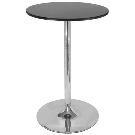 winsome 174 28 quot pub table with chrome leg 151239 kitchen