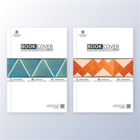 book cover template free book cover template vector free