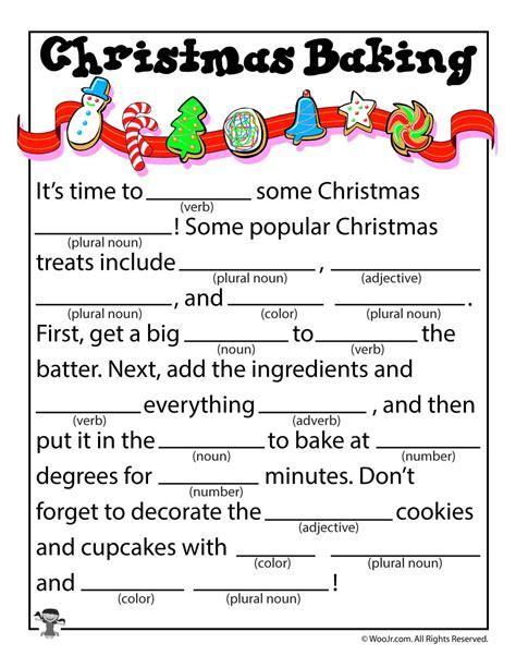 printable holiday mad libs christmas baking kid s mad libs woo jr kids activities