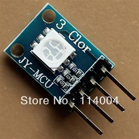 Terlaris Modul Led Rgb Color Smd 5050 Arduino Warna Warni Cahaya new arduino mcu compatible rgb module 3 color led smd