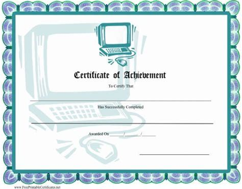 computer certificate templates 1000 images about certificate design on gift