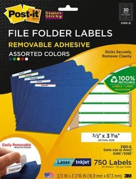 post it file folder labels template post it file folder removable labels removable labels organized