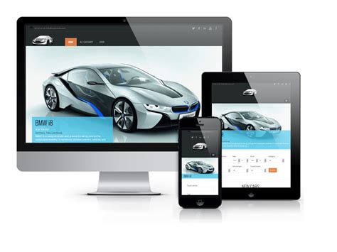 Orda Car Template Free Joomla Theme Vinaora Joomla Automotive Template