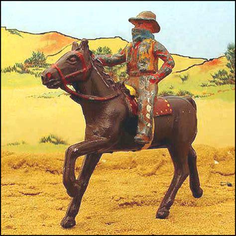 film cowboy iron horse taos unlimited western funhouse vintage cast iron